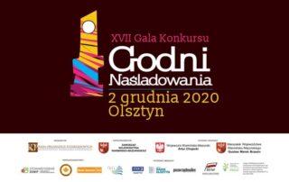 Plakat konkursu Godni Naśladowania